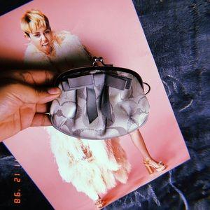 Coach coin wallet
